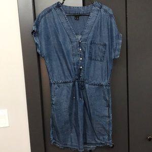 NWOT Paige Chambray Dress